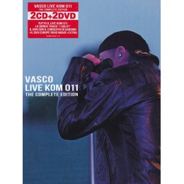 Vasco Rossi  LIve KOM  011  2CD  2DVD concert