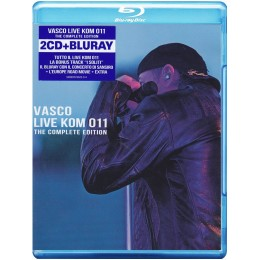Vasco ROSSI  LIve KOM  011   the complete edition (BR +2CD)