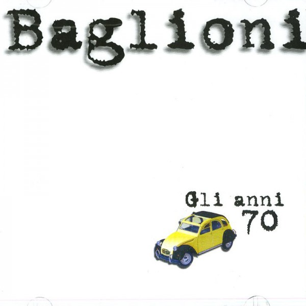 Claudio Baglioni gli anni 70