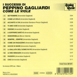Peppino Gagliardi Come le Viole