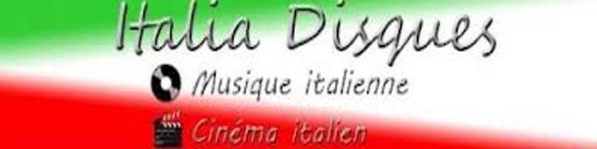 CD audio musique et chanson italienne
