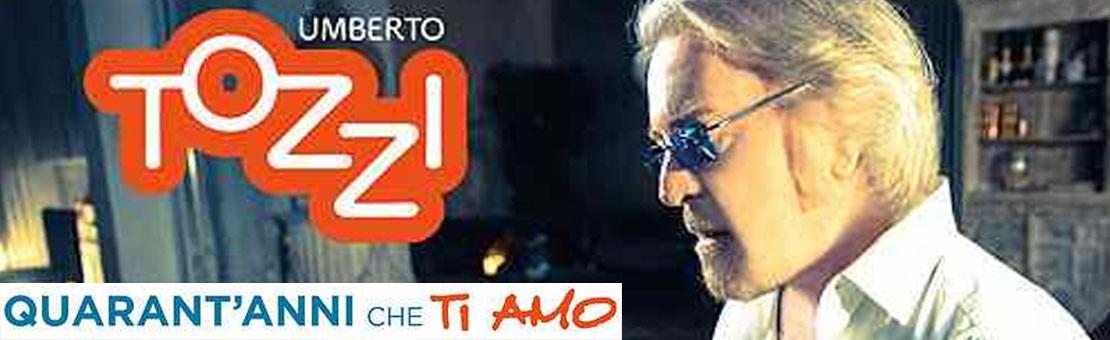 Umberto Tozzi Quarant'anni che ti amo